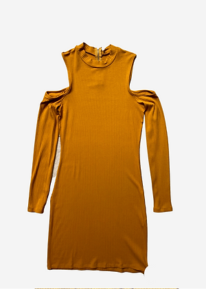 Vestido Curto Canelado Colcci - CCI002
