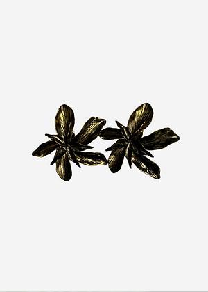 Brinco Flor Ouro Velho - 00109