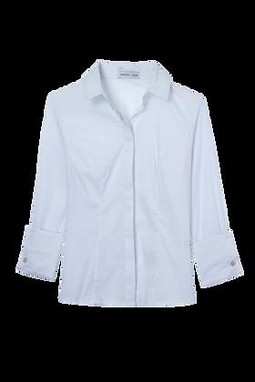Camisa Basica Cotton Tricoline Branco