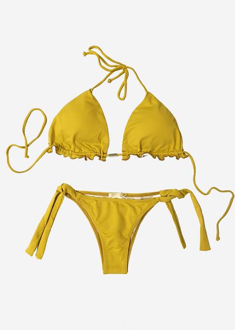 Biquíni Lisa Riedt Cortininha Yellow  - BQ005