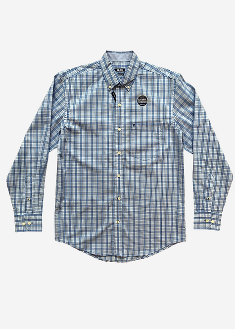 Camisa Social IZOD Natural Stretch Xadrez - IZ037