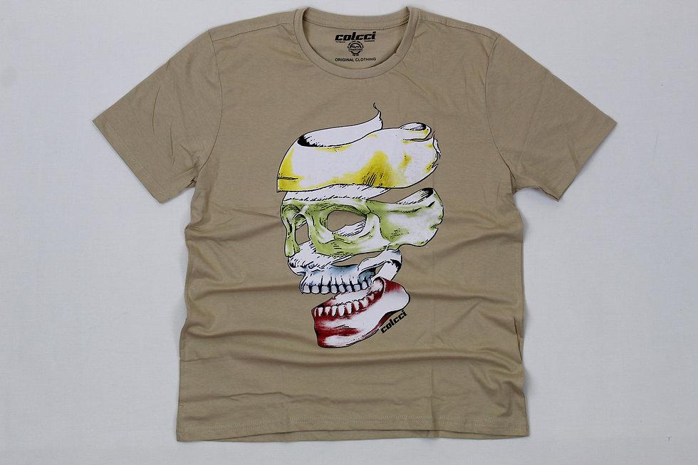 Camiseta Colcci Caveira - CTM033