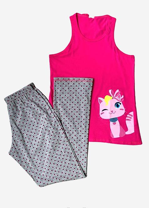 Pijama Puket Meow - PJ018