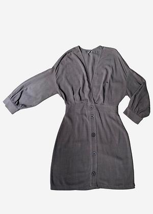 Vestido curto linho - COL0196