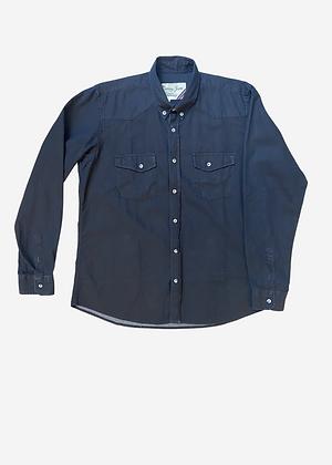 Camisa jeans escuro Zamany - ZA003