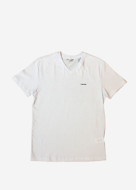 Camiseta Calvin Klein Basic Gola V - CK012