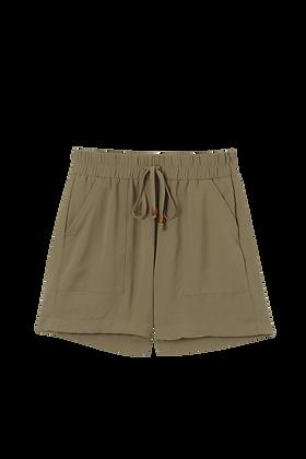 Shorts Sport Com Bolso Elastico Verde