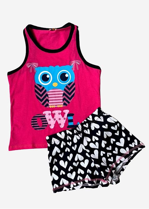 Pijama Puket Owl - PJ012