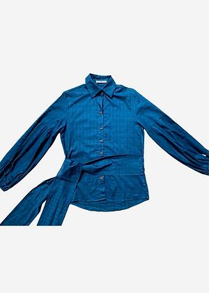 Camisa Sofia Pade D Azul - D032