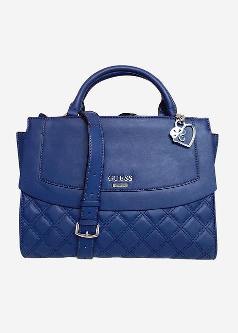 Bolsa Guess Azul Alça Transversal - B060