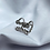 Thumbnail: Anel aberto 2 fios c/ zirc. redonda - 899