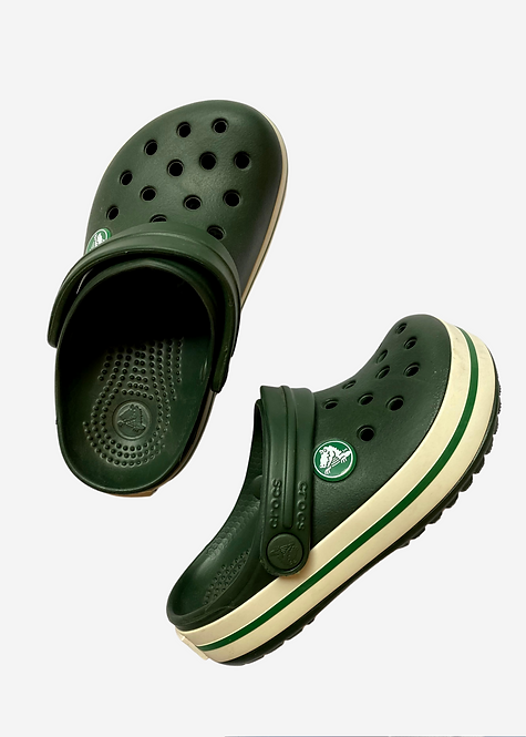 Crocs Crocband Kids Verde - CS026