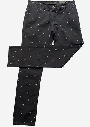 Calça sarja estampada Colcci - MM018