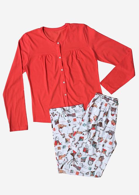 Pijama Sonhart Orange - PJ004