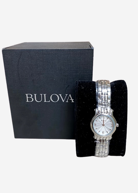 Relógio Bulova Silver Feminino