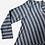Thumbnail: Vestido curto canelado listrado - COL0194