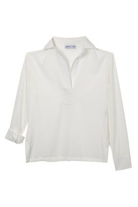 Camisa Lisa Off White