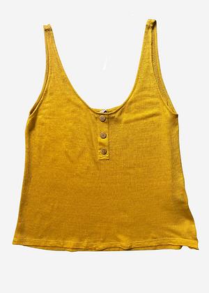 Camiseta Bianca Pade D Amarela - D054