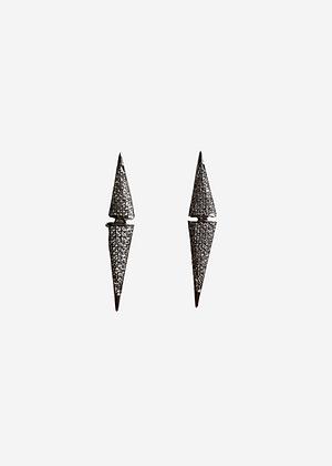 Brinco Triangulo flexivel c/ zirc. - 913