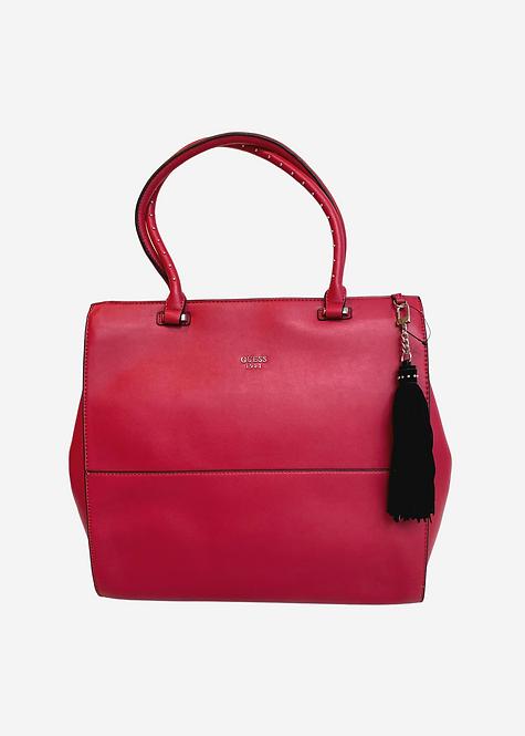 Bolsa Guess Vermelho Lisa - B048
