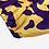 Thumbnail: Bata Dani Estampada Pade D Amarelo - D023