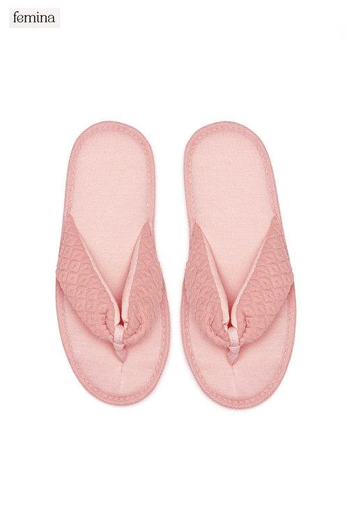 נעלי בית אצבע - femina