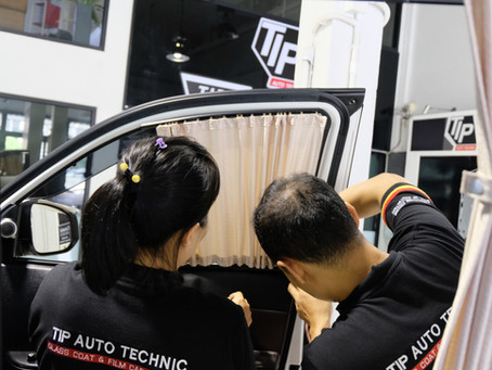 ทำความสะอาดผ้าม่านรถยนต์ง่ายๆด้วยตนเอง