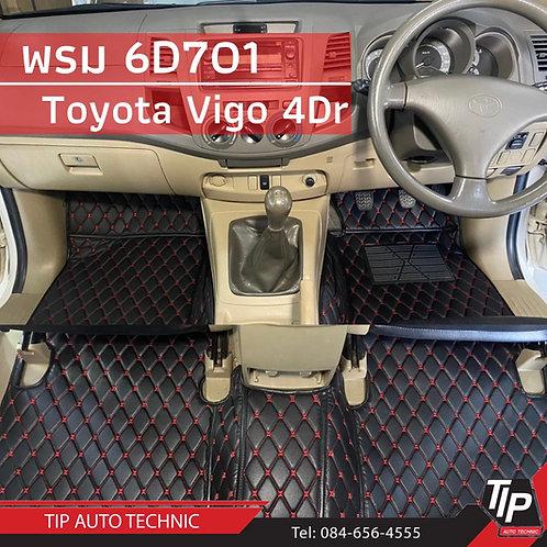 พรม 6D Toyota Vigo