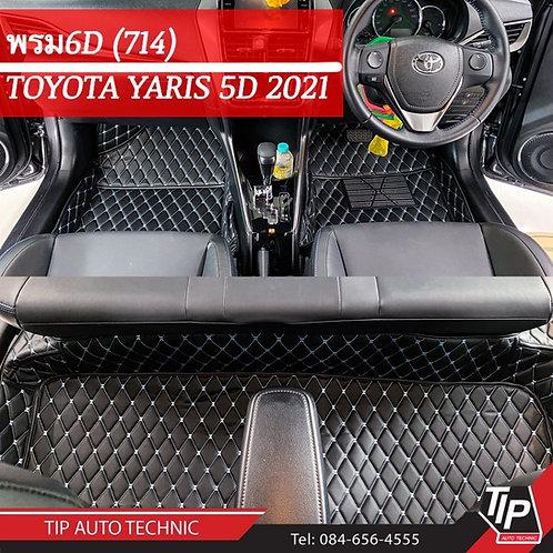 พรม 6D Toyota Yaris 2021