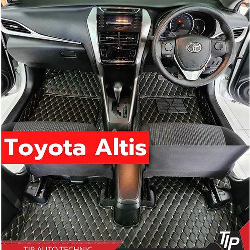พรม 6D Toyota Altis