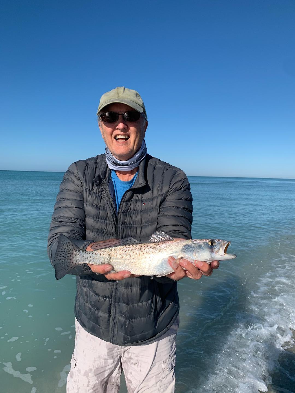 Dad w/ Sea Trout