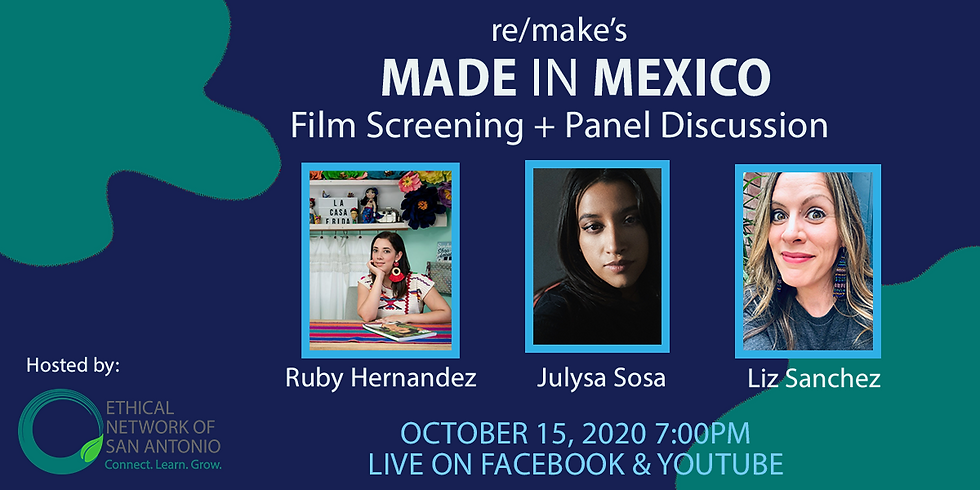 Made in Mexico: Film Screening + Panel Discussion