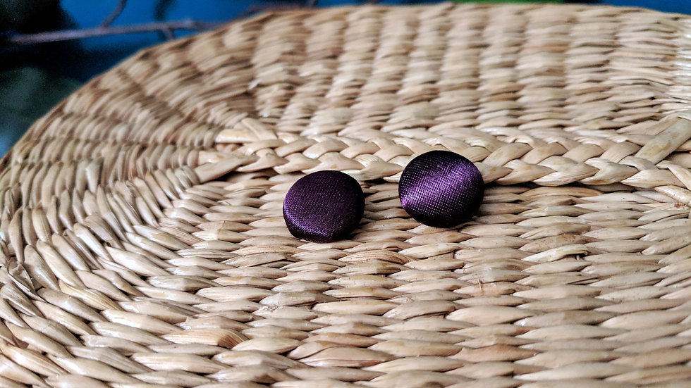 Mini Plum Buttons