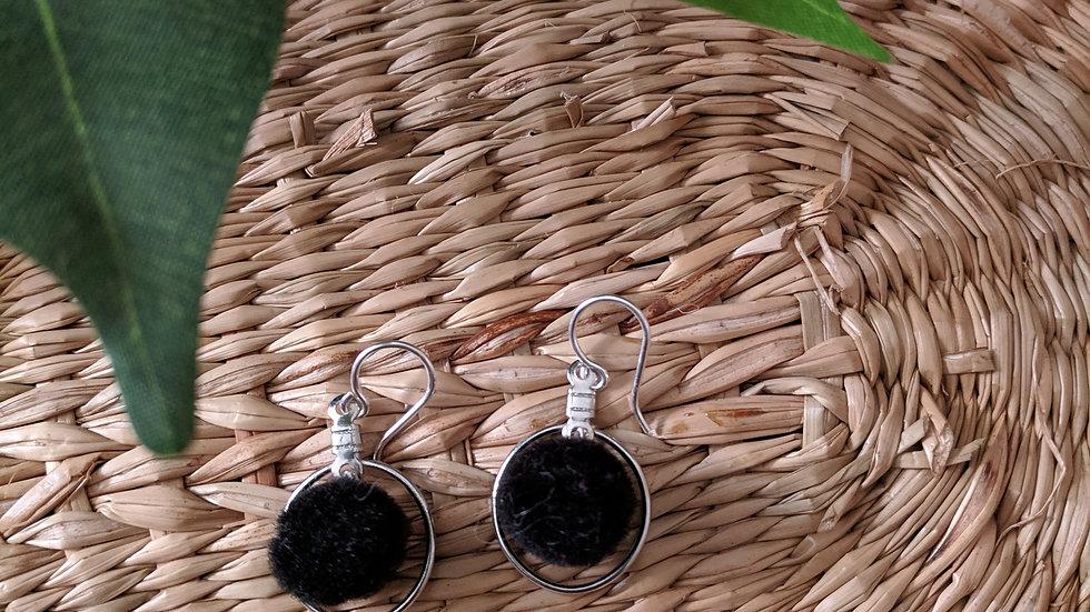 Mini PomPom Black