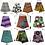 Thumbnail: African Print Skirts