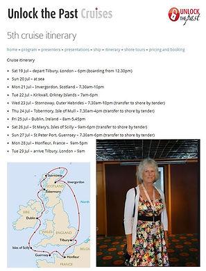 """Unlock The Past Cruise """"Jackie Depelle"""" Genealogy"""