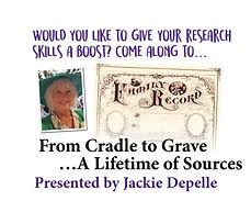 "Family Tree Magazine ""Jackie Depelle"""