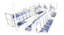 Conceptual Interior Design for Lamma Ferry.