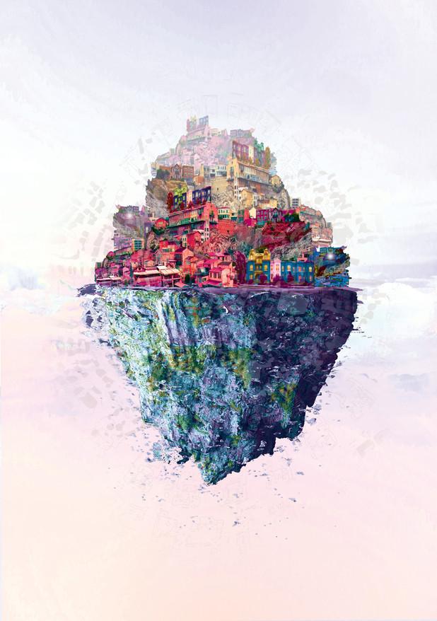 Invisible City - Eudoxia / Carpet City & Sky