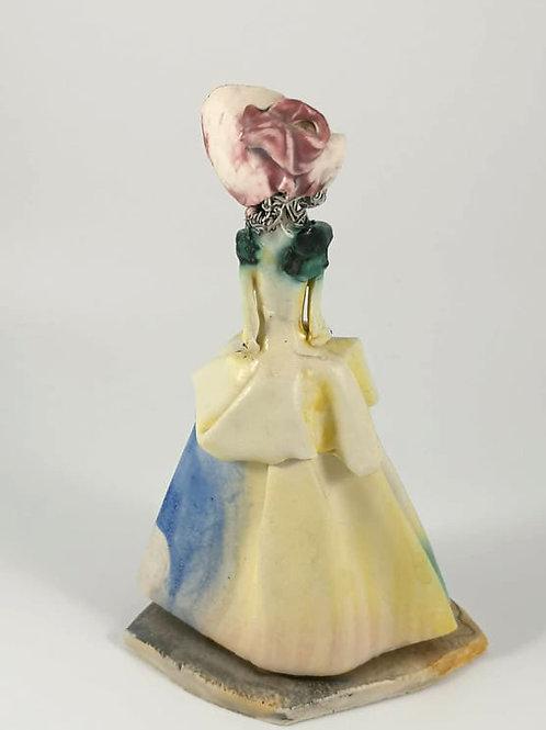 Statuette femme Giovanni Duso