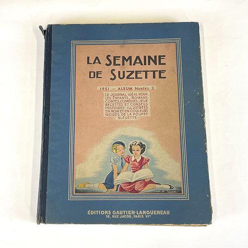 La Semaine de Suzette - album n°3