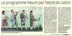 Le Progrès, 27 Novembre 2014