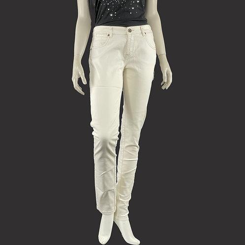 Jean's blanc - IKKS t.38/40