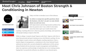 Boston Voyager Chris Johnson Interview