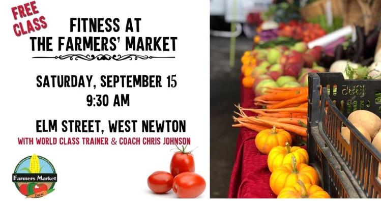 West Newton Farmers' Market Fitness Class