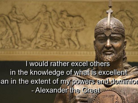 A Quick Lesson on Greatness - Alexander the Great