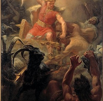 The origin of courage and what it can do for teambuilding; lead your team like a Norse god