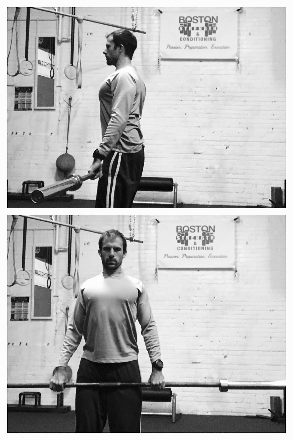 Make a box whenever lifting.  Shoulders Back, Chest Out, & Core Tight