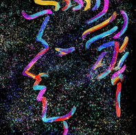 Side Face Line Art