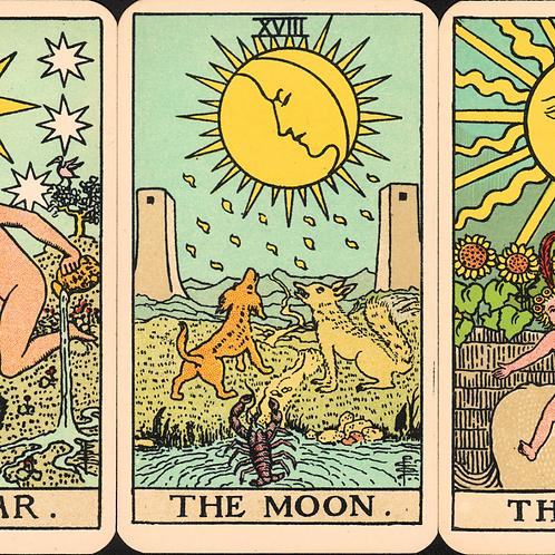 2 card tarot reading ((mail))